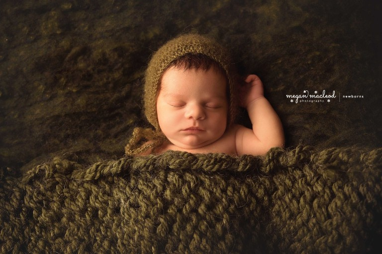 Unique newborn photos